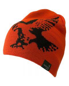 Swarovski Hawk Merino Beanie Hat - Signal Orange