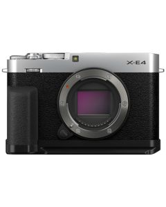 Fujifilm X-E4 Digital Mirrorless Camera Body with Accessory Kit - Silver