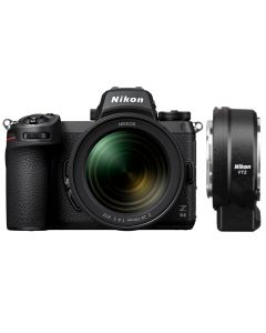 Nikon Z6 II Digital Mirrorless Camera with 24-70mm Lens and FTZ Mount Adapter