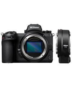 Nikon Z7 II Digital Mirrorless Camera with FTZ Mount Adapter