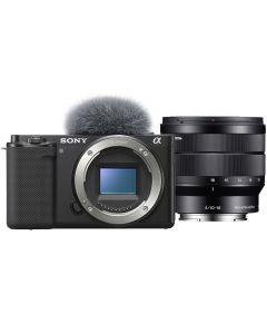 Sony Alpha ZV-E10 Digital Camera with 10-18mm Lens
