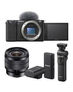 Sony Alpha ZV-E10 Digital Camera Vlogging Bundle with 10-18mm Lens