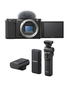 Sony Alpha ZV-E10 Digital Camera Vlogging Bundle