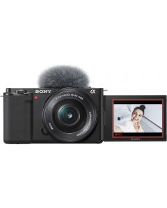 Sony Alpha ZV-E10 Digital Camera with 16-50mm Lens