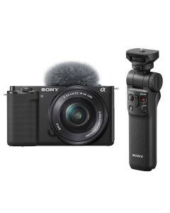 Sony Alpha ZV-E10 Digital Camera with 16-50mm Lens & Vlogging Grip