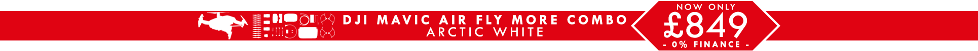 DJI Mavic Air Combo Only £849