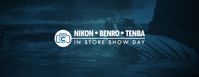 Nikon Christmas Show Day with Benro & Tenba - Saturday December 8th 2018