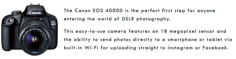 EOS 4000D