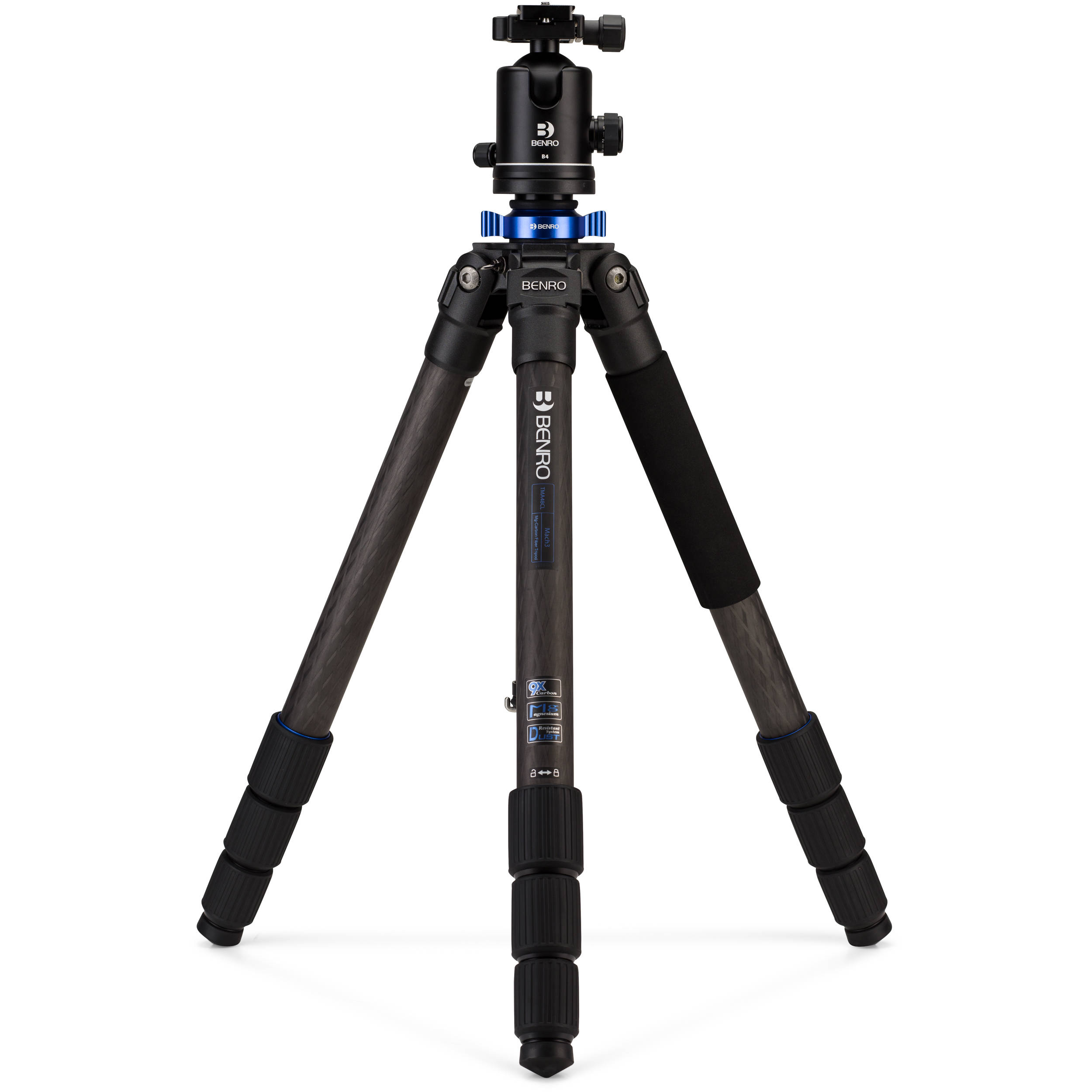 Benro TMA48CLB4 Series 4 Mach3 Carbon Fiber Tripod with B4 Ball Head