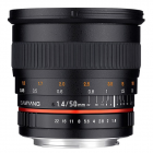 Samyang 50mm F1.4 AS UMC Fast Prime Lens: Sony Full Frame E Mount CA2532
