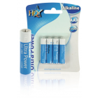 HQ Ultra Power Alkaline AAA Battery - 4 Pack