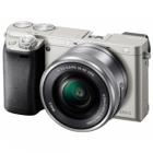 Sony Alpha A6000 Digital Camera with 16-50mm PZ Lens - Silver: Refurbished