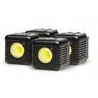 Lume Cube 1500 Lumen LED Light Quad Pack - Black