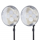 Dorr DL-400 LED Continuous Lighting Kit 8x10 Watt LED Bulbs