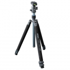 Dorr Cybrit Medi 3-BA Aluminium 3-Section Tripod - Steel Grey