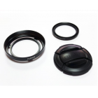 Fujifilm LHF-X20 Lens Hood and Filter Kit - Black