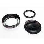 Fujifilm LHF-X20 Lens Hood and Filter Kit - Black