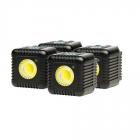 Lume Cube 1500 Lumen LED Light Quad Pack - Gunmetal Grey