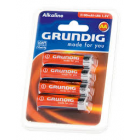 Grundig Alkaline AA Battery - 4 Pack