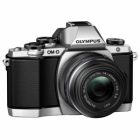 Olympus OM-D E-M10 Mark II Digital Camera with 14-42mm EZ Lens - Silver