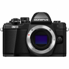 Olympus OM-D E-M10 Mark II Digital Camera Body Only - Black
