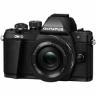 Olympus OM-D E-M10 Mark II Digital Camera with 14-42mm EZ Lens - Black