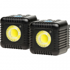Lume Cube 1500 Lumen LED Light Twin Pack - Black