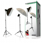 Konig KN-STUDIO91 150W Studio Flash Lighting Kit With Wireless Trigger