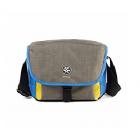 Crumpler Proper Roady 2.0 Camera Sling 2500 Shoulder Bag: Warm Grey/Yellow