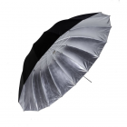 "Phottix Para-Pro Reflective Studio Umbrella - Black / Silver - 101cm (40"")"