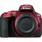 Nikon D5500 Digital SLR Camera Body: Red