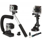 Sunpak 5 Piece Gopro / Action Camera Accessory Kit