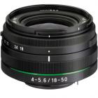 Pentax 18-50mm DC WR RE Lens - Black (White Box)