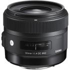 Sigma 30mm F1.4 DC HSM Prime Art Lens: Canon  AA0423