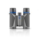 Zeiss Terra ED 10x25 Compact Pocket Binoculars - Grey/Black