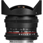 Samyang 8mm T3.8 Asph IF MC Fisheye CS II VDSLR Lens: CANON AA0416