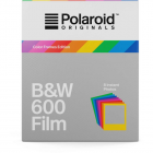 Polaroid Originals Instant Film B&W for 600 Cameras With Colour Frames