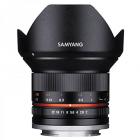 Samyang 12mm F2.0 NCS CS Ultra Wide Angle Lens for Fujifilm X Mount Black CA1774