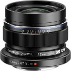 Olympus 12mm f2 M.Zuiko Digital ED Lens - Black