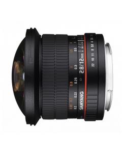 Samyang 12mm F2.8 ED AS NCS Full Frame Fisheye Lens: Canon EF Mount CA2706
