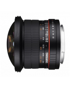 Samyang 12mm F2.8 ED AS NCS Full Frame Fisheye Lens: Micro Four Thirds 4/3 Mount