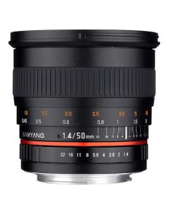 Samyang 50mm F1.4 AS UMC Fast Prime Lens: Olympus 4/3 Four Thirds CA2531