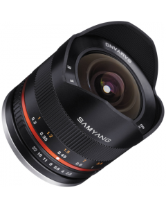Samyang 8mm F2.8 Aspherical ED UMC II Fisheye Lens - Black: Fujifilm X Mount CA2555
