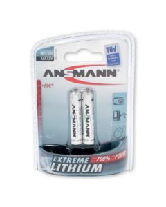 Ansmann 2x AA Extreme Lithium Battery