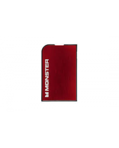 Monster Mobile PowerCard 1650mAh Portable Battery - Cherry Red