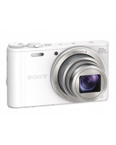 Sony Cyber-shot DSC-WX350 Digital Camera - White: Refurbished