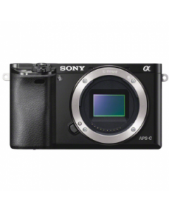 Sony Alpha A6000 Digital Camera Body - Black: Refurbished