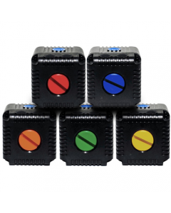 Lume Cube Coloured Cap Kit for Lume Cube (Blue, Orange, Red, Green, Yellow)