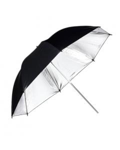 "Phottix Reflective Studio Umbrella 152cm (60"") - Silver/Black"