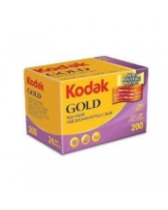 Kodak Gold ISO 200 Colour 24 Exposure 35mm Film